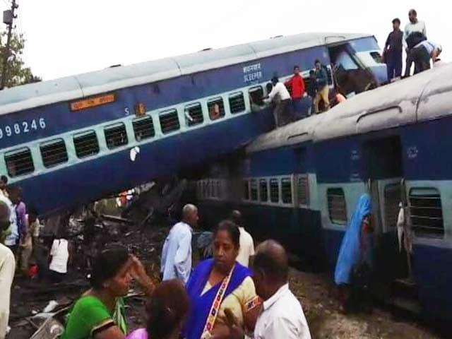 Video : कलिंग उत्कल एक्सप्रेस मुजफ्फरनगर के पास हुई दुर्घटनाग्रस्त