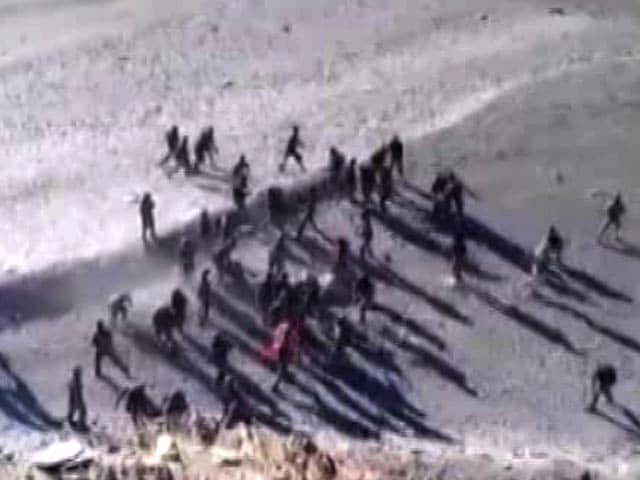Video : Video Shows Clashes Of Indian, Chinese Soldiers At Ladakh