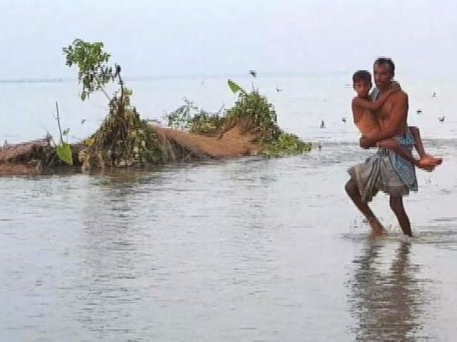 Video : Assam's River Island Residents See Land Sinking As Brahmaputra Swells