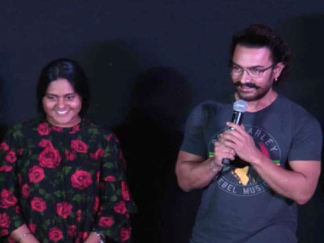 Watch: Song Launch Of Aamir Khan's Secret Superstar