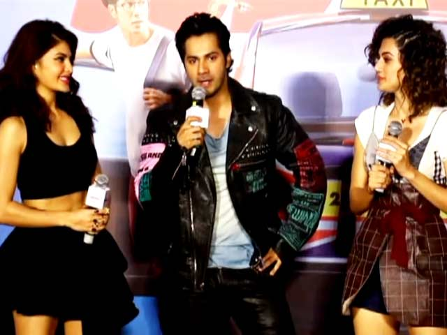 Video : Watch: Varun Dhawan & <i>Judwaa 2</i> Team At The Trailer Launch