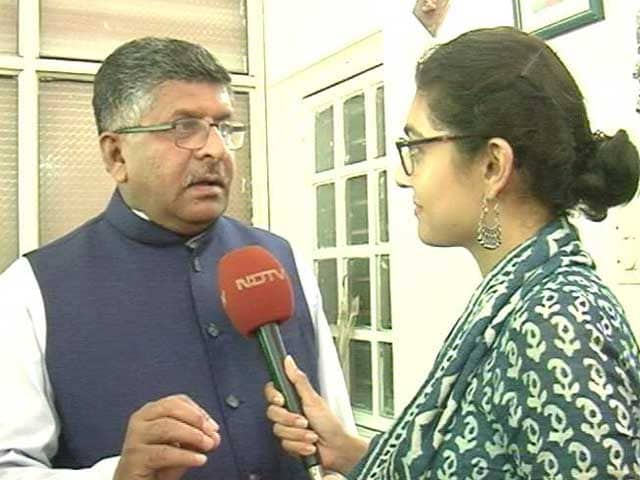 Video : Modi Government, Not Rajiv Gandhi's: Minister After Triple <i>Talaq</i> Verdict