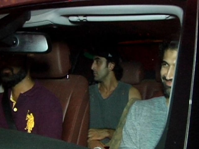 Watch! Ranbir, Varun & Aditya At Karan Johar's Party