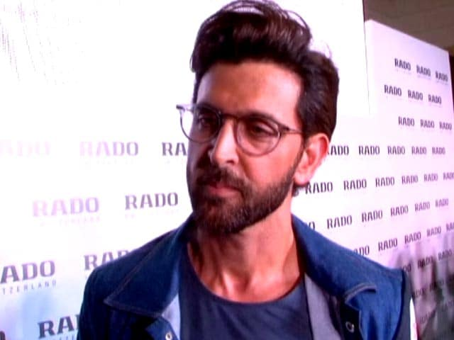 Hrithik Roshan On The Importance Of Time Management