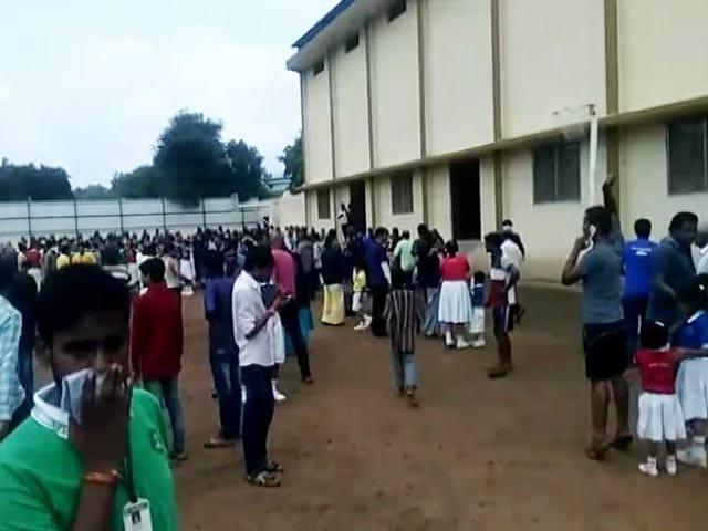 Video : कोल्ड स्टोरेज से हुआ अमोनिया का रिसाव, 30 बच्चे अस्पताल में