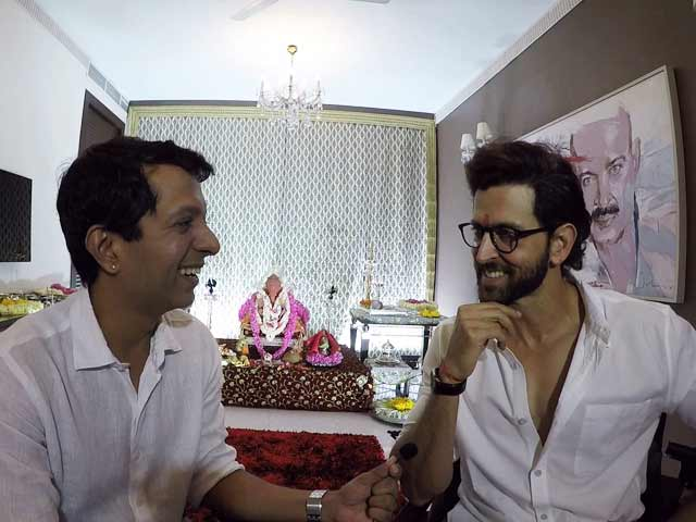 Exclusive: Hrithik Roshan Celebrates Ganesh Chaturthi