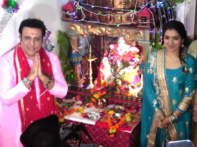 Video : Govinda On His Love For Lord Ganesha & More