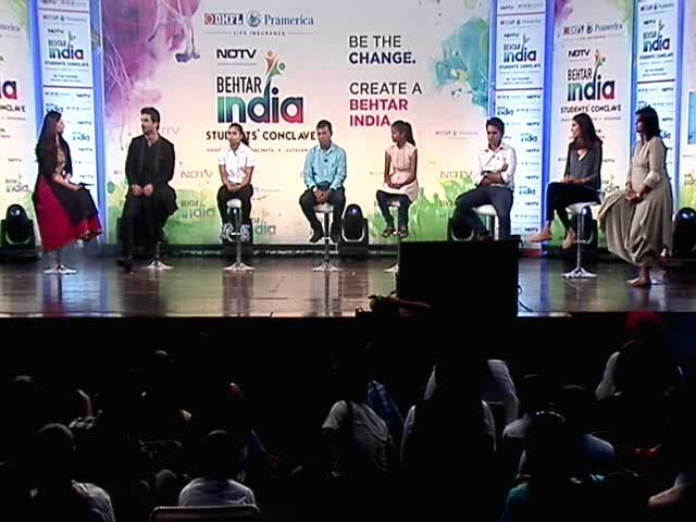 Video : Inspiring Youth Icons At The Behtar India Students' Conclave