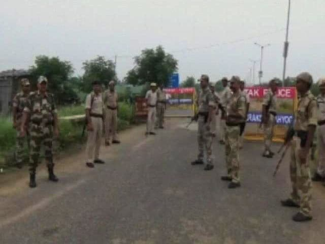 Video : Multi-Layered Security Near Rohtak Jail Where Dera Chief Ram Rahim Is Kept