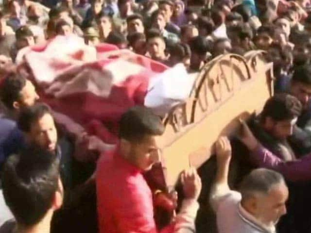 Video : Hundreds Participate In Farewell Of CRPF Jawan Killed In Pulwama