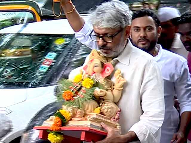 Watch: Sanjay Leela Bhansali Bids Adieu To Lord Ganesha
