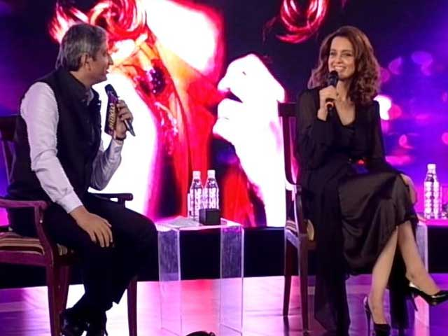 Video : I Come From A Conservative Background, Just Wanted To Be Free: Kangana Ranaut