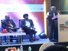 Roadshow of the India Mobile Congress