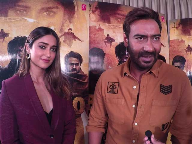 Ajay Devgn & Ileana D'Cruz On Their Upcoming Film Baadshaho