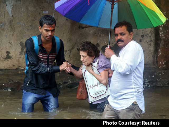 Video : 5 Dead In 30X Normal Rain In Mumbai, City Struggles Day After