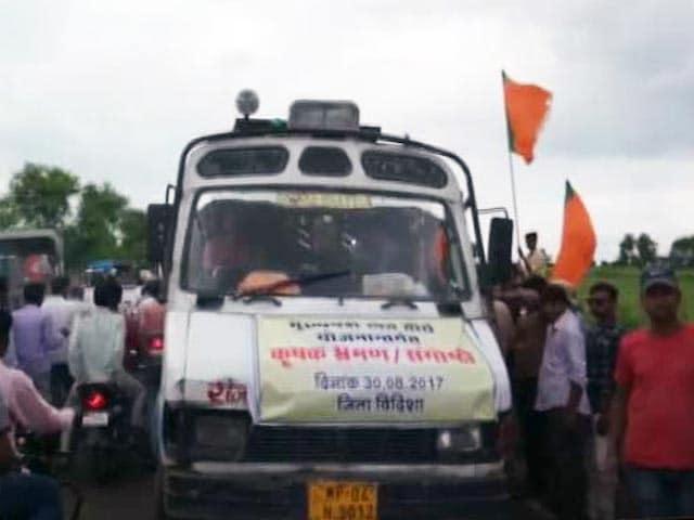 Videos : शिवराज की रैली की वजह से लगा जाम, समय से अस्पताल नहीं पहुंच पाया शख्स