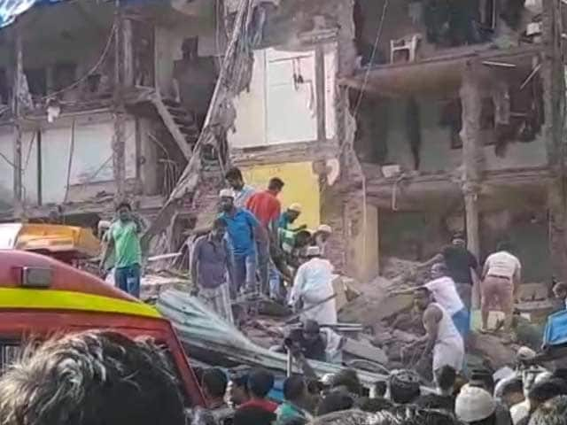 Video : Mumbai Building Collapses Killing 21, Was Declared Unsafe 6 Years Ago