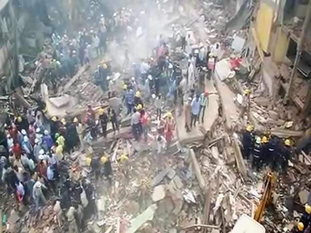 Video : मुंबई में 5 मंजिला इमारत ढही, 12 लोगों की मौत, कई घायल