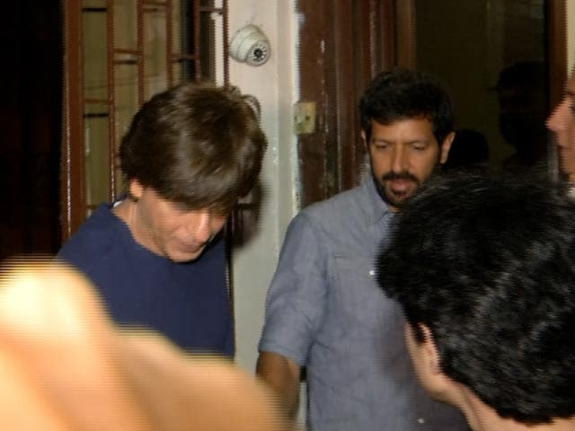 Shah Rukh Khan Spotted With Filmmaker Kabir Khan