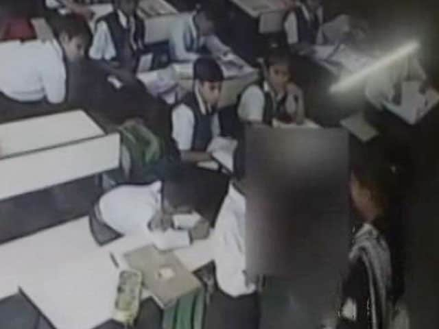Video : Class 3 Boy Slapped 40 Times By Teacher. Video Is Viral