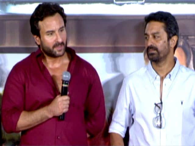 Watch: Saif Ali Khan At The Trailer Launch Of Chef