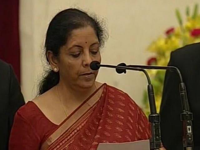 Video : Cabinet Reshuffle: Nirmala Sitharaman Takes Oath