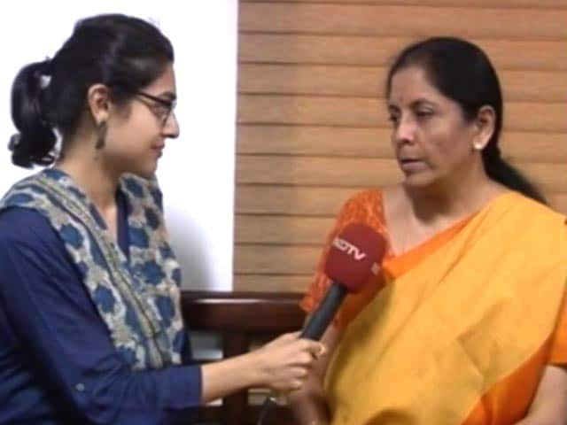 Video : Nirmala Sitharaman Says Appointment A 'Message' On Women's Status