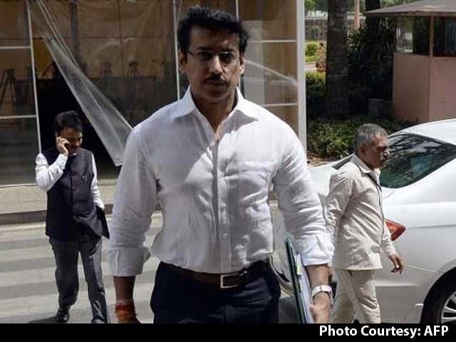 Video : Rajyavardhan Singh Rathore Appointed India's New Sports Minister