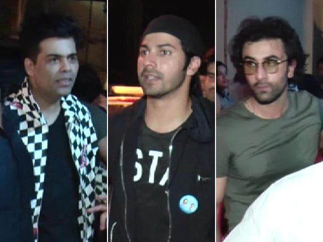 Watch! Ranbir, Varun, Aditya & Karan's Night Out In Mumbai