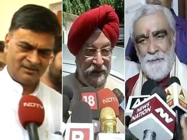 Video : The New Faces In PM Modi's Team