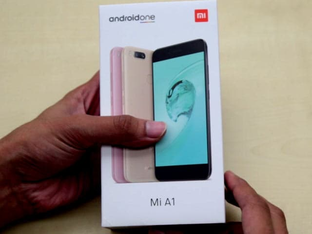 Video : Xiaomi Mi A1 Unboxing and First Look