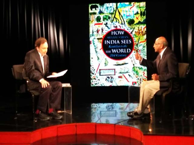 Video : Prannoy Roy Interviews Shyam Saran On 'How India Sees The World'