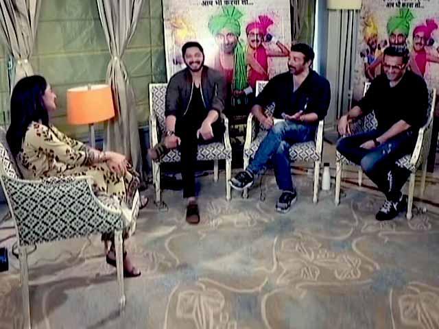 Videos : 'पोस्टर बॉयज' के देओल भाई सनी और बॉबी से ख़ास मुलाकात