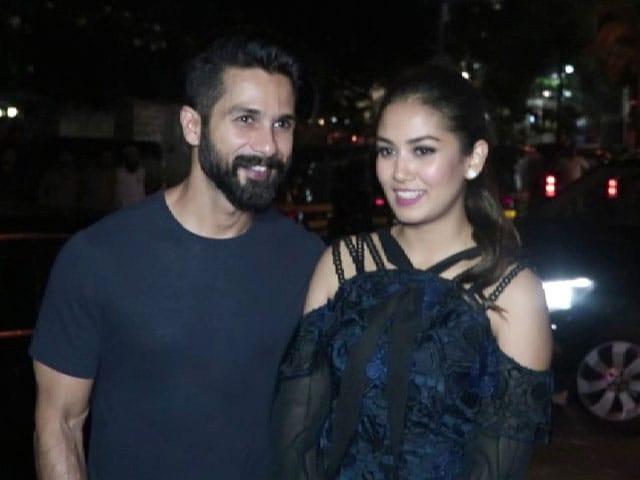 Video : Shahid Kapoor Celebrates Wife Mira Rajput's Birthday
