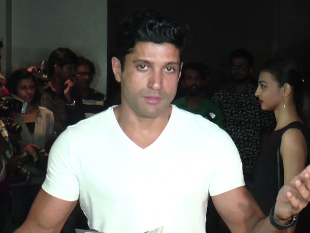 Video : Farhan Akhtar On <i>Lucknow Central</i>