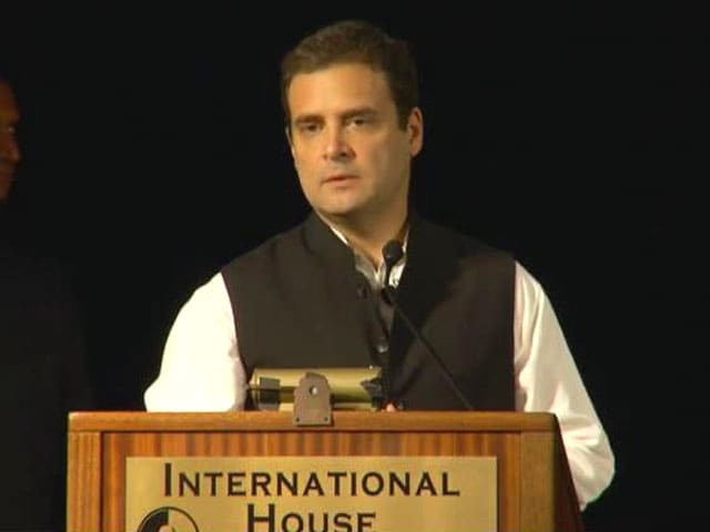 Video : Yes, Ready To Be PM Candidate, Signals Rahul Gandhi At US University