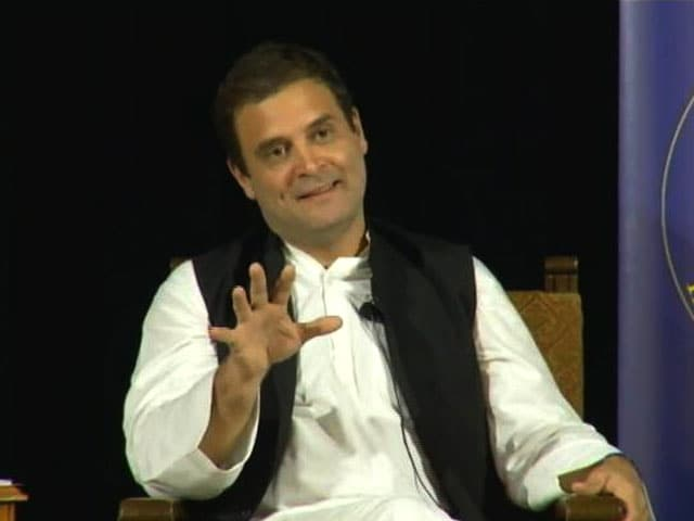 Video : Rahul Gandhi Acknowledges Congress Arrogance, Says India Runs On Dynasty
