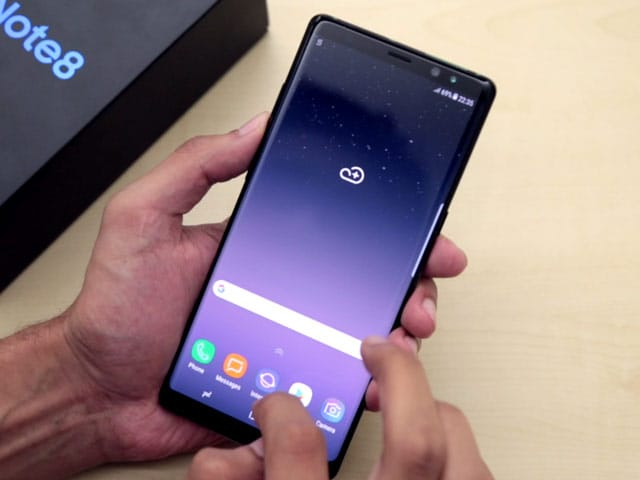 Video : Samsung Galaxy Note 8 Unboxed