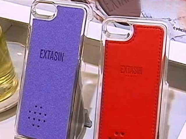 Video : A Phone Cover That Smells Great
