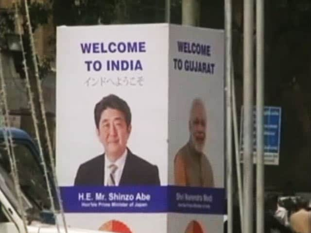 Video : For PM Modi And Japan's Abe, A Trip To Famous Mosque, Bullet Train Inauguration