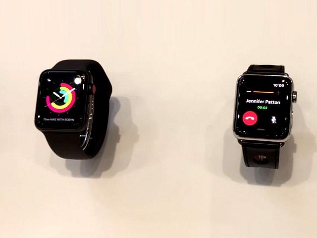 Video : Apple Watch Series 3 First Look
