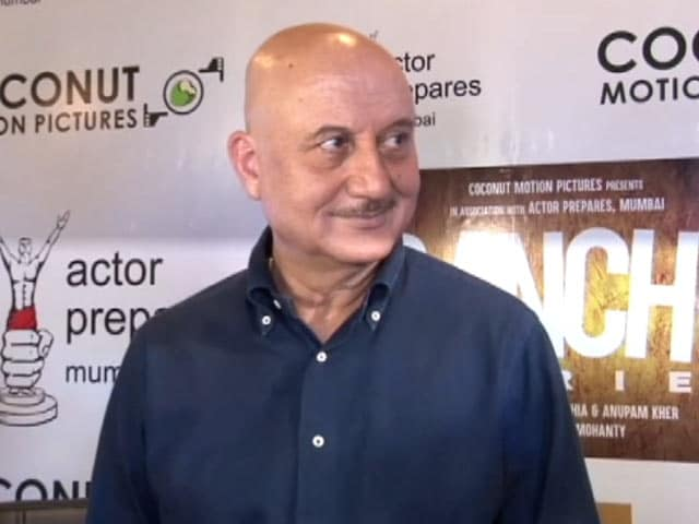 Anupam Kher On Working With Newcomers In Ranchi Diaries
