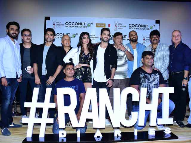 Bollywood Bigwigs At Ranchi Diaries Trailer Launch