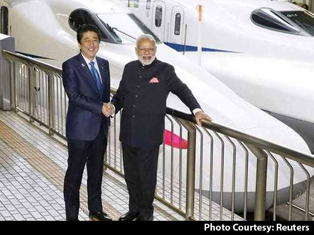 Video : Bullet Train Project Begins Today, Cost 1.1 Lakh Crores