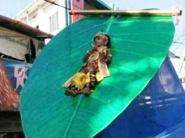Video : Image Of 3-Year-Old 'Krishna' At Kerala Festival Triggers Rage