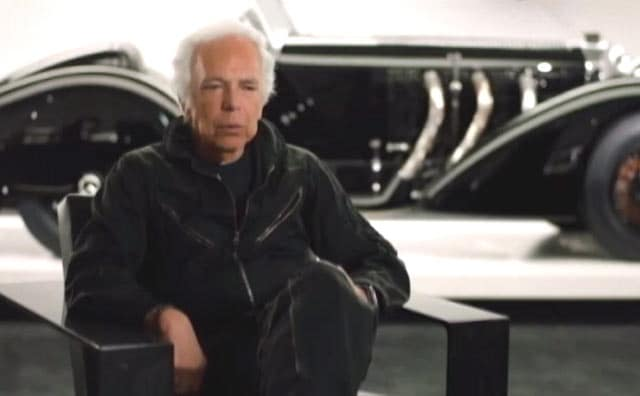 Video : Ralph Lauren Shows His New Collection With The Unique Background Of His Car Collection