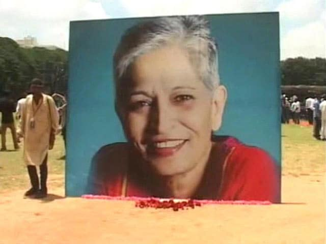 Video : Bullets Fired At Gauri Lankesh Could Give Vital Clues On Killers