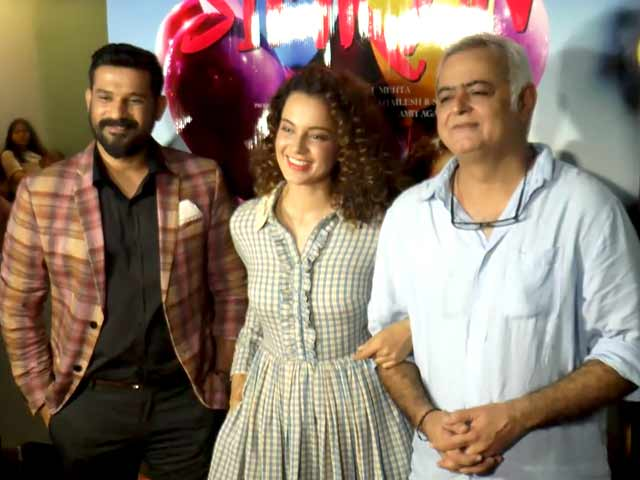 Kangana Ranaut And Other Celebs At The Screening Of Simran