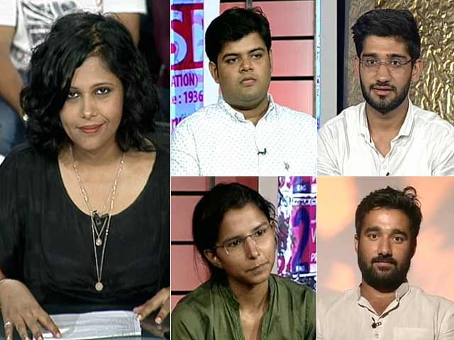 Video : Campus Polls: National Trend?