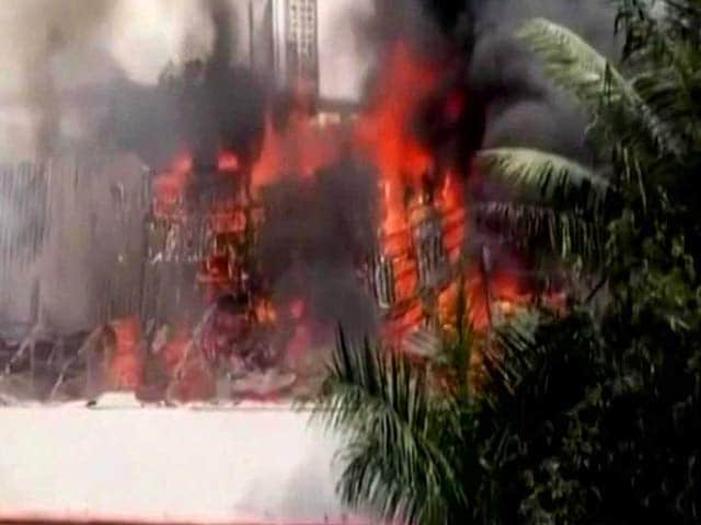 Video : Major Fire At Iconic RK Studio In Mumbai, Reality TV Show Set Gutted